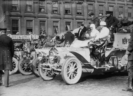 New york to paris 1908