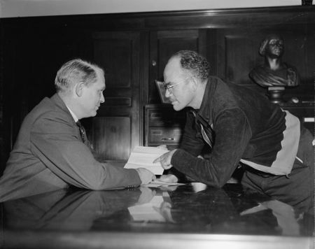 Representative dies and Harris and ewing 1932
