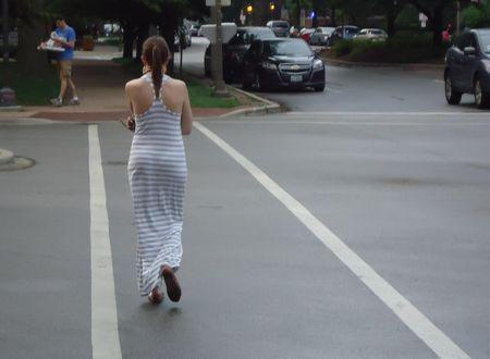 Crossing the street 3