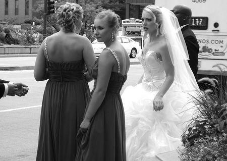 Bridal party michigan avenue