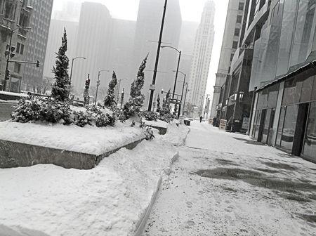 Am on Michigan avenue