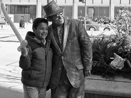 Mr. Silverman and Saber Boy