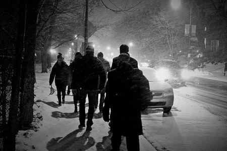 Snowfall Chicago
