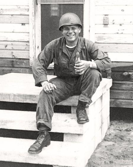 Army Recruit, Camp Gordon GA, 1951