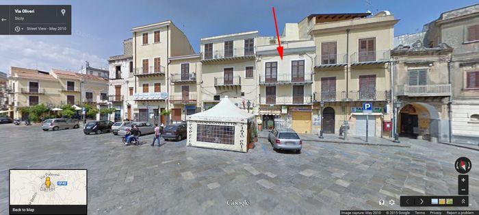 My Grandfather's Home in Carini Sicily