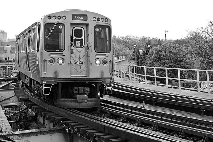 Brown Line Loop Train