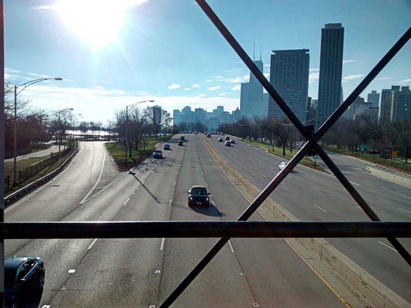 Lake Shore Drive, Chicago Decemeber 24, 2015