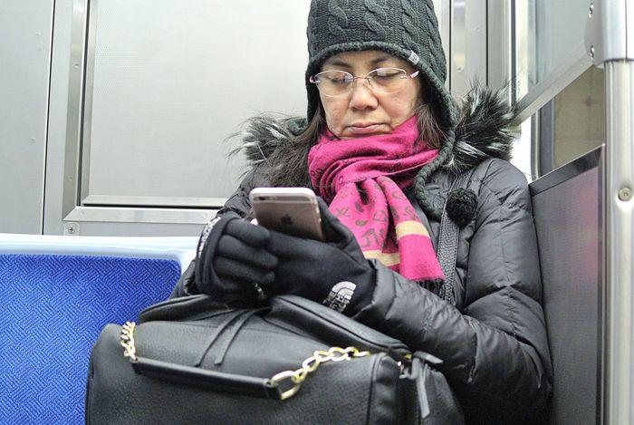 Red Line Underground Passenger