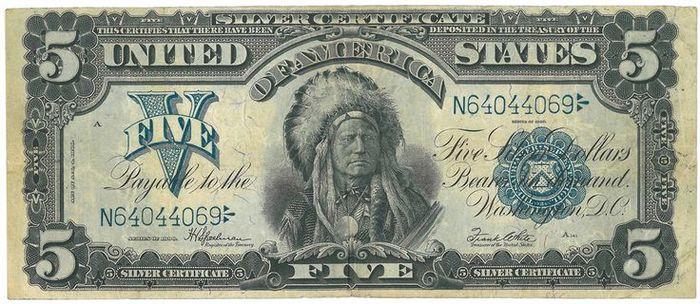 Indian chief dollar