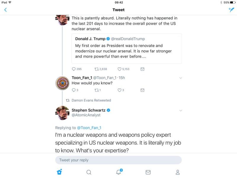 Modernized Nuclear Arsenal