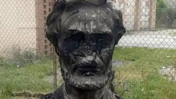 Lincoln BURNED