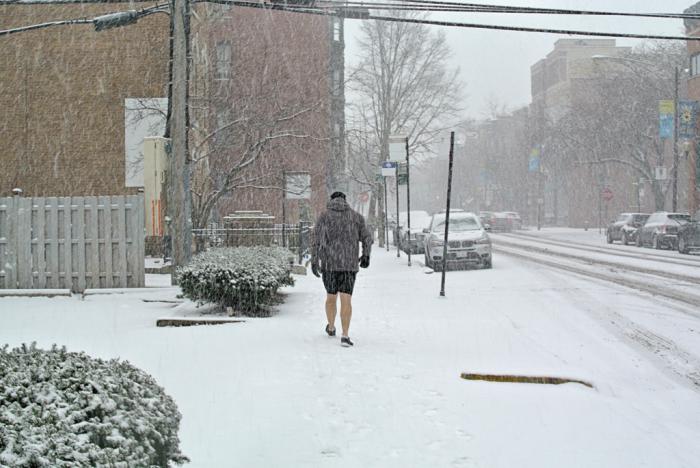 Snow shorts 12-24-17