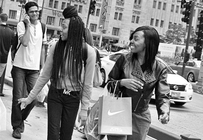 Shoppers, Michigan Avenue, Chicago