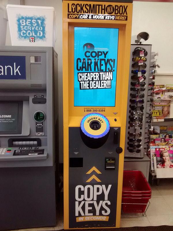 Copy keys