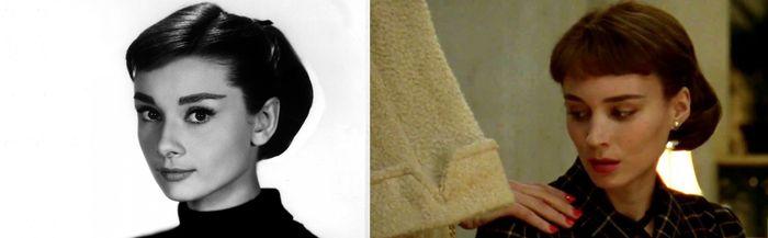 Audrey Hepburn Rooney Mara