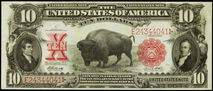Bison, Lewis and Clark dollar