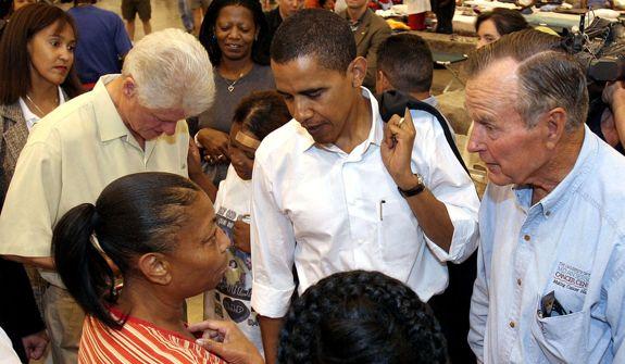 Clinton Bush Obama