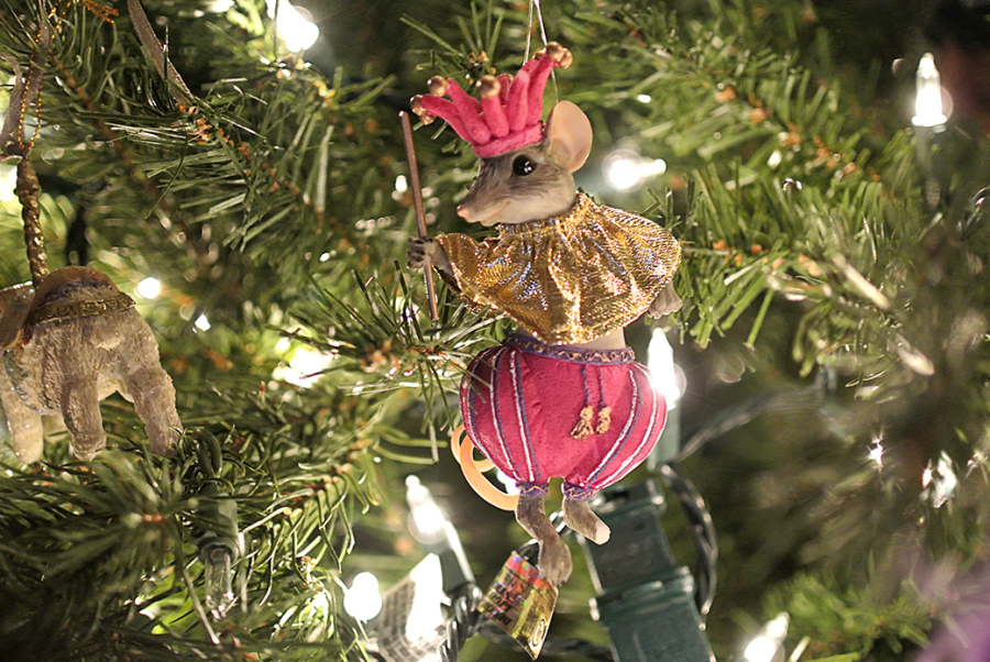 Mouse Christmas Tree Ornament