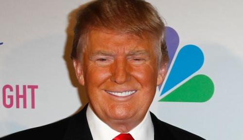 Trump skin color