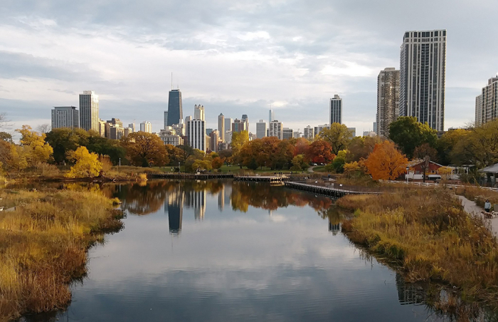 Lincoln Park Chicago Tuesday Oct 31