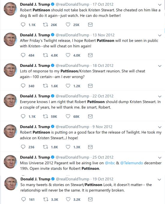 Trump obsession kristen stewart