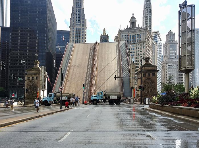 Michigan Avenue Bridge Up(1)