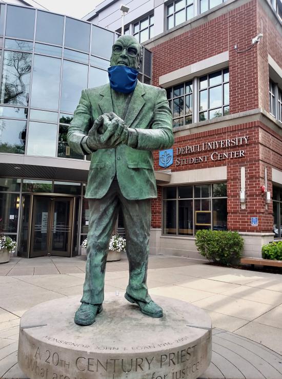 UnMasked Statue