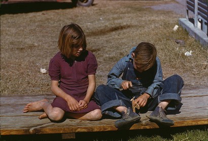 Boy_building_a_model_airplane_while